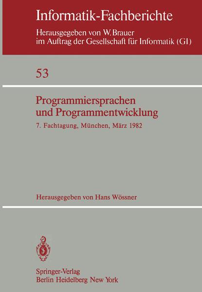 Programmiersprachen und Programmentwicklung - Coverbild
