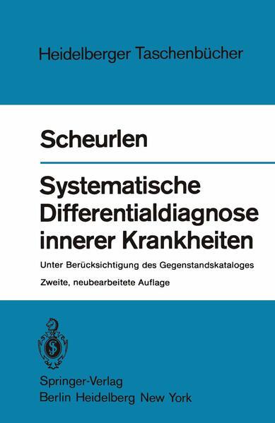 Systematische Differentialdiagnose innerer Krankheiten - Coverbild