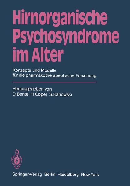 Hirnorganische Psychosyndrome im Alter - Coverbild