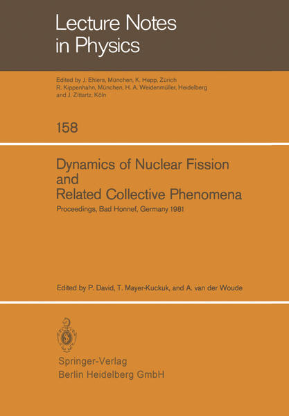Dynamics of Nuclear Fission and Related Collective Phenomena - Coverbild