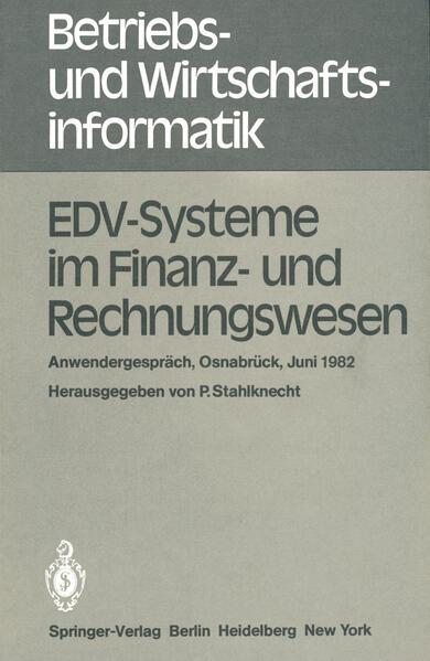 EDV-Systeme im Finanz- und Rechnungswesen - Coverbild