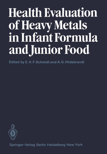 Health Evaluation of Heavy Metals in Infant Formula and Junior Food - Coverbild