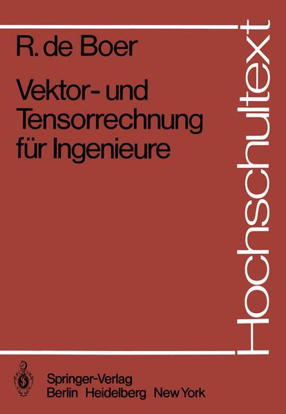 Vektor- und Tensorrechnung für Ingenieure - Coverbild