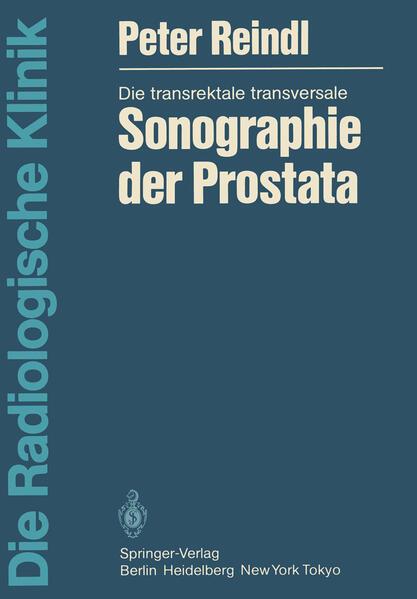 Die transrektale transversale Sonographie der Prostata - Coverbild