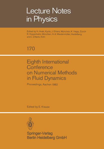 Eighth International Conference on Numerical Methods in Fluid Dynamics - Coverbild
