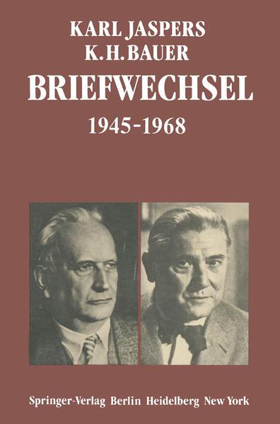 Briefwechsel 1945–1968 - Coverbild