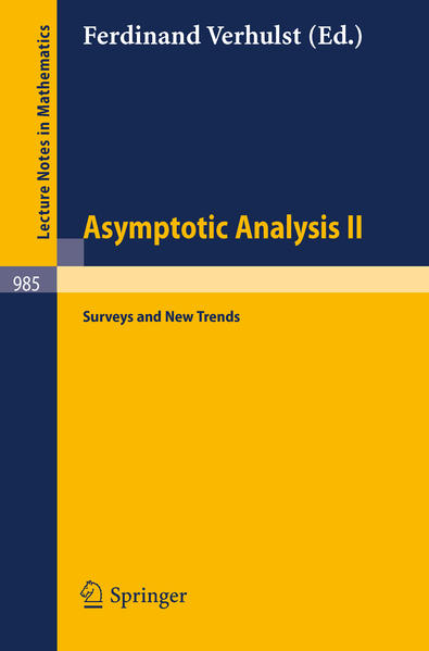 Asymptotic Analysis II - Coverbild
