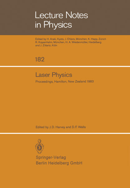 Laser Physics - Coverbild