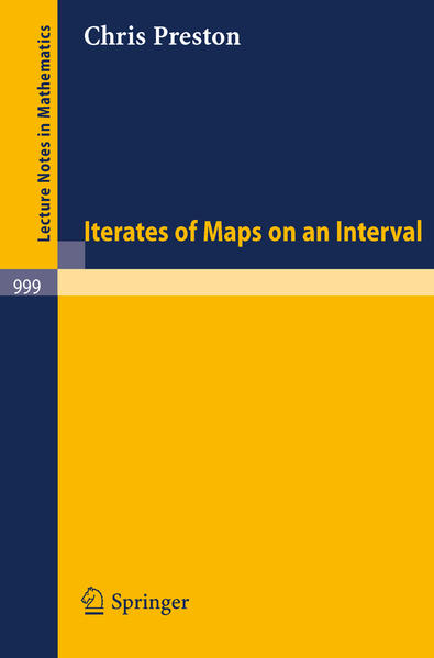 Iterates of Maps on an Interval - Coverbild