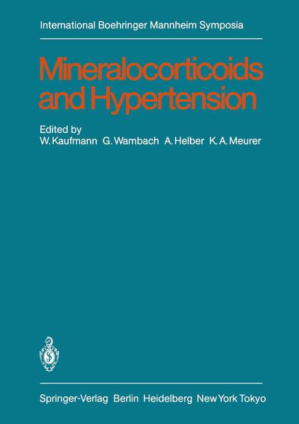Mineralocorticoids and Hypertension - Coverbild