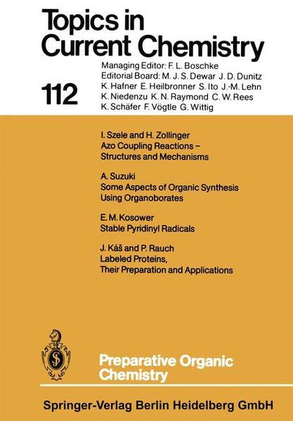 Preparative Organic Chemistry - Coverbild