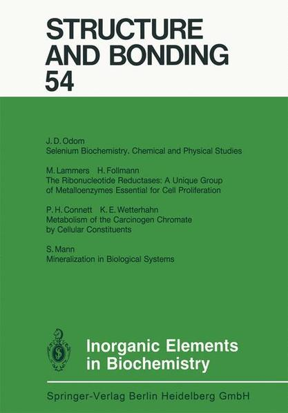 Inorganic Elements in Biochemistry - Coverbild