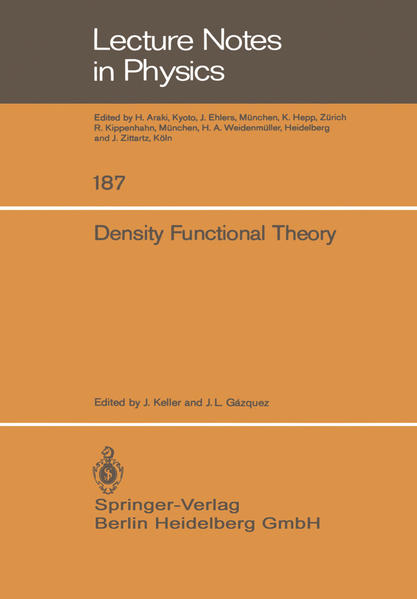 Density Functional Theory - Coverbild
