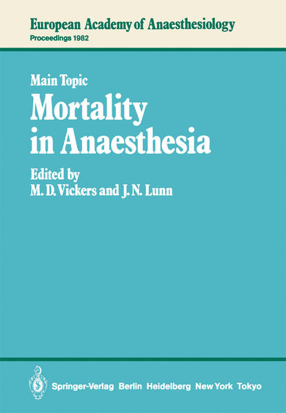 Mortality in Anaesthesia - Coverbild