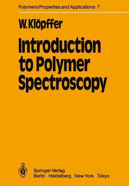 Introduction to Polymer Spectroscopy - Coverbild