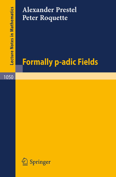 Formally p-adic Fields - Coverbild