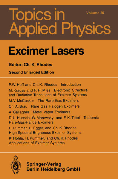 Excimer Lasers - Coverbild