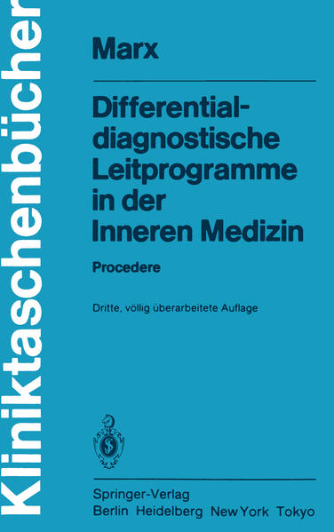 Differentialdiagnostische Leitprogramme in der Inneren Medizin - Coverbild