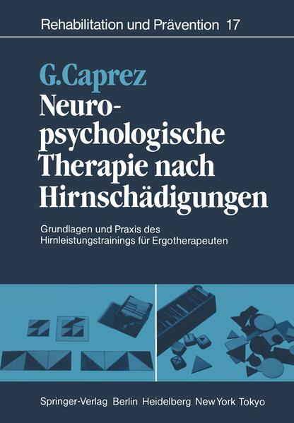 Neuropsychologische Therapie nach Hirnschädigungen - Coverbild