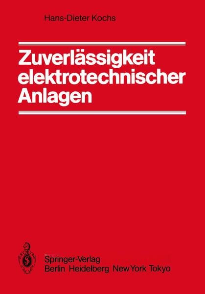 Zuverlässigkeit elektrotechnischer Anlagen - Coverbild