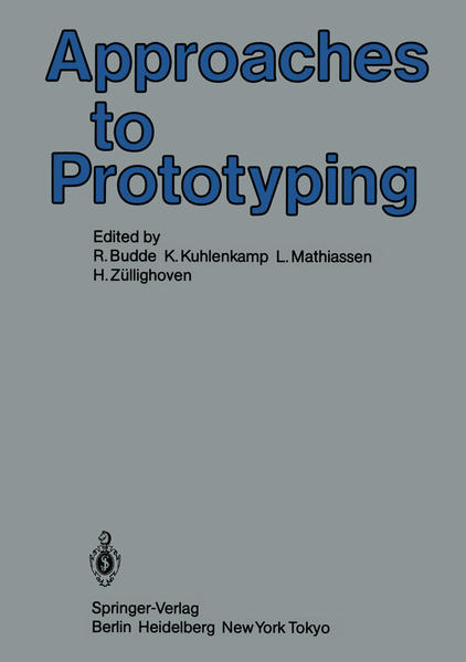 Approaches to Prototyping - Coverbild