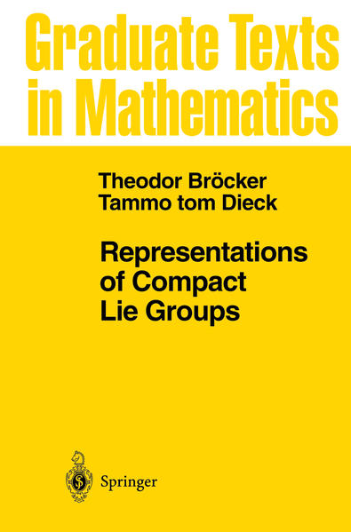 Representations of Compact Lie Groups - Coverbild