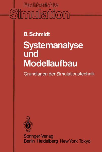 Systemanalyse und Modellaufbau - Coverbild
