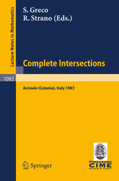 Complete Intersections - Coverbild