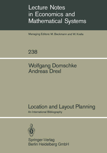 Location and Layout Planning - Coverbild