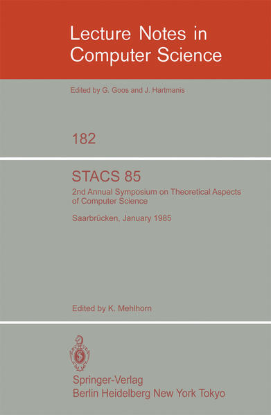STACS 85 - Coverbild
