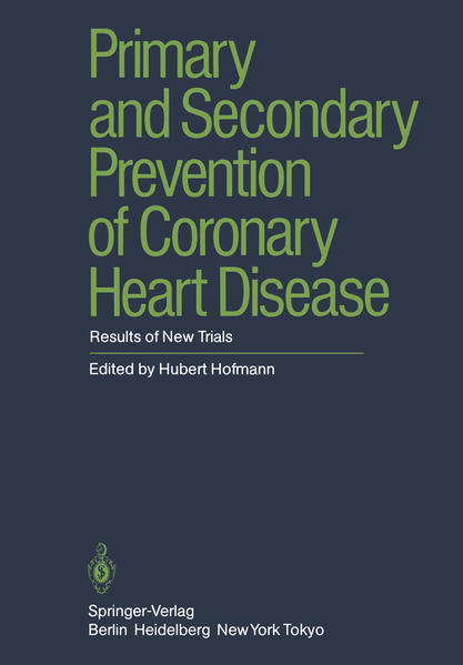 Primary and Secondary Prevention of Coronary Heart Disease - Coverbild