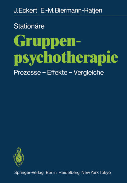 Stationäre Gruppen-psychotherapie - Coverbild