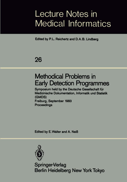 Methodical Problems in Early Detection Programmes - Coverbild
