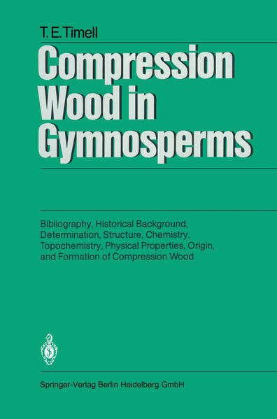Compression Wood in Gymnosperms - Coverbild