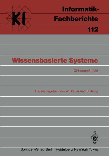 Wissensbasierte Systeme - Coverbild
