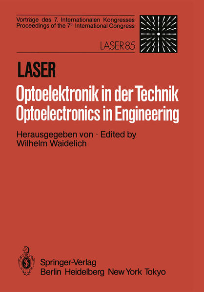 Laser/Optoelektronik in der Technik / Laser/Optoelectronics in Engineering - Coverbild
