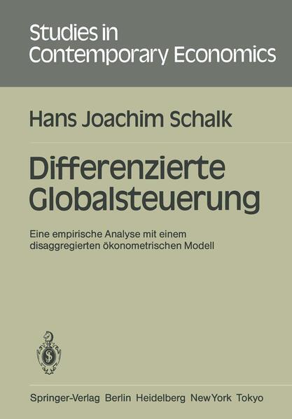Differenzierte Globalsteuerung - Coverbild
