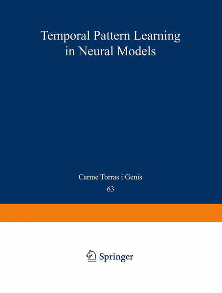 Temporal-Pattern Learning in Neural Models - Coverbild