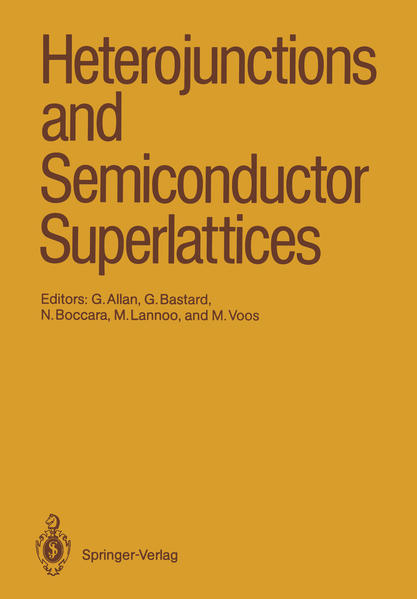 Heterojunctions and Semiconductor Superlattices - Coverbild