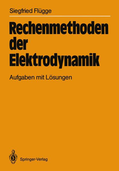 Rechenmethoden der Elektrodynamik - Coverbild
