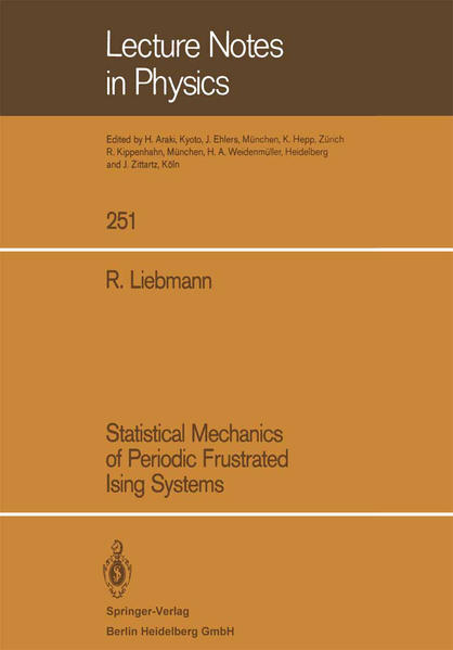 Statistical Mechanics of Periodic Frustrated Ising Systems - Coverbild