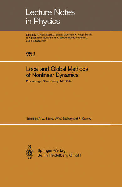 Local and Global Methods of Nonlinear Dynamics - Coverbild