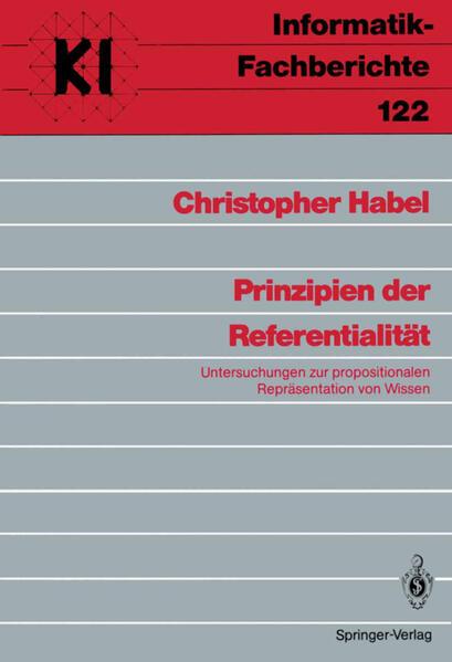 Prinzipien der Referentialität - Coverbild
