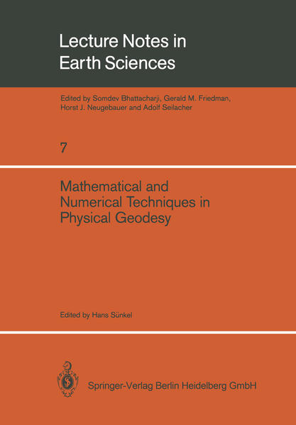 Mathematical and Numerical Techniques in Physical Geodesy - Coverbild