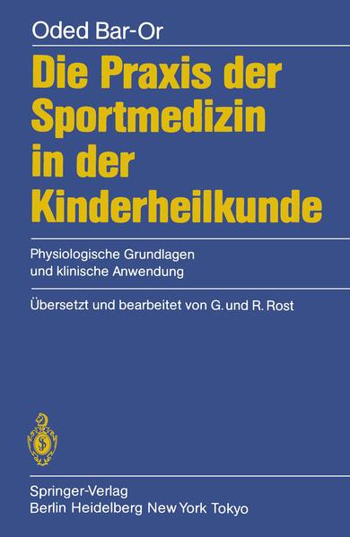 Die Praxis der Sportmedizin in der Kinderheilkunde - Coverbild