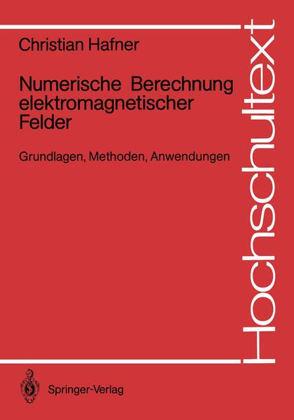 Numerische Berechnung elektromagnetischer Felder - Coverbild