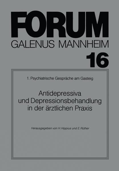 Antidepressiva und Depressionsbehandlung in der ärztlichen Praxis - Coverbild