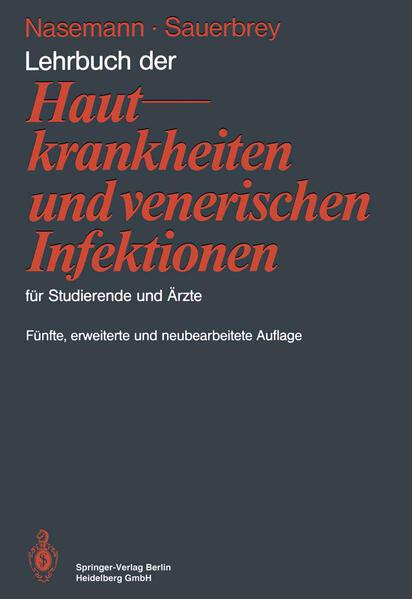 Lehrbuch der Hautkrankheiten und venerischen Infektionen für Studierende und Ärzte - Coverbild
