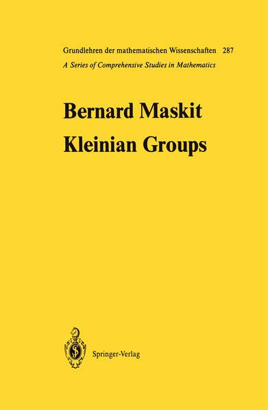 Kleinian Groups - Coverbild