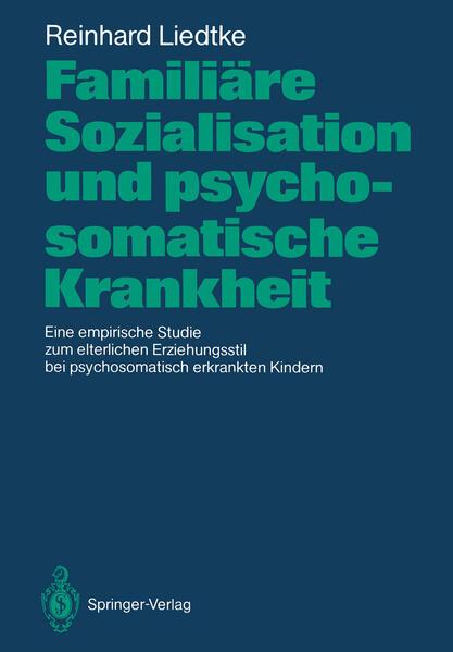 Familiäre Sozialisation und psychosomatische Krankheit - Coverbild
